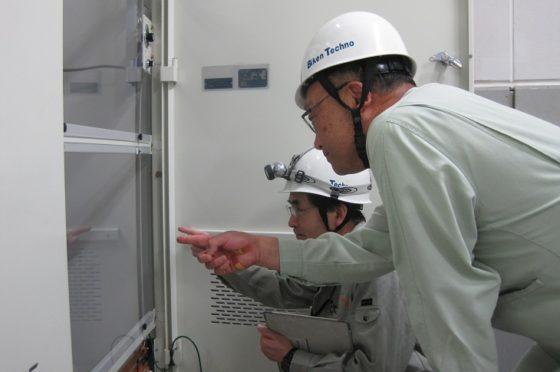 物流倉庫の設備管理(兵庫県尼崎市)